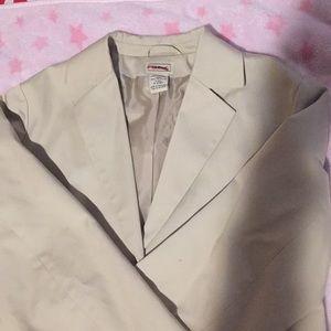Cream l.l. Bean blazer